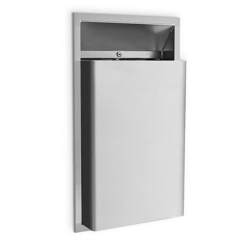 AJW U410 Waste Receptacle with 4