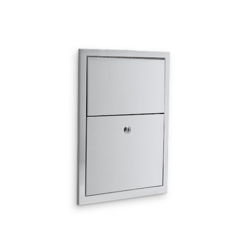 AJW U581-S2 Sanitary Napkin Disposal, Semi-Recessed