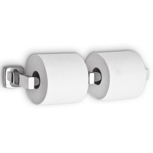 AJW UX142-BF Dual Bright Toilet Tissue Dispenser, Surface Mounted
