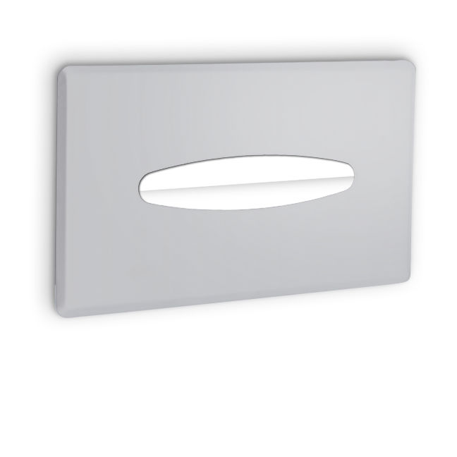 Ajw ux197 sf satin facial tissue dispenser surface mounted - Recessed facial tissue dispenser ...