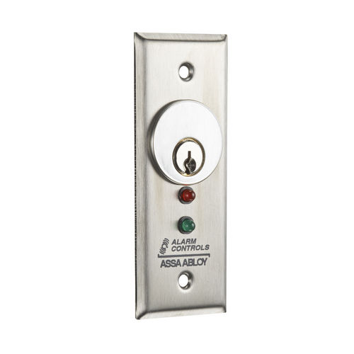 Alarm Controls MCK-3 302 Key Switch Stainless Steel 1-3/4