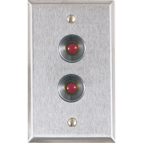 Alarm Controls RP-27 RP Push Button Plate