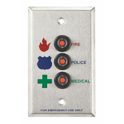 Alarm Controls RP-46 RP Wall Plate