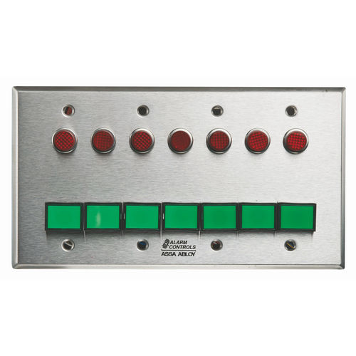 Alarm Controls SLP-7M 4G Monitoring/Control Station  Stainless Steel 7Ea Dsw-3 III Gn 12V 7Ea 1/2