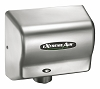 American Dryer GXT9-C Heat eXtremeAir Dryer, Steel Satin Chrome