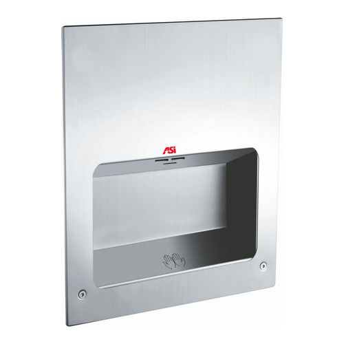 ASI 0134-1 Turbo-Tuff Fully Recessed Automatic High Speed Hand Dryer (115-120V), Satin Stainles Steel
