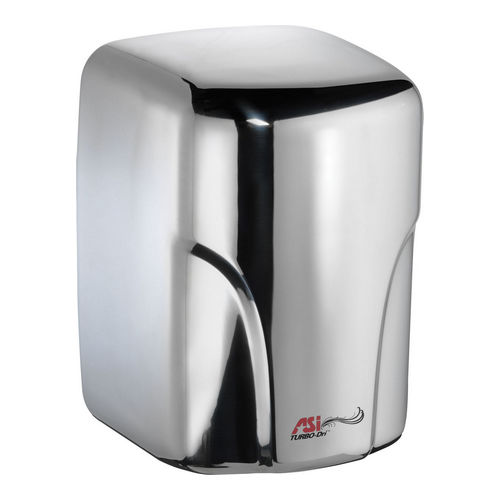 ASI 0197-1-92 Turbo-Dri High Speed Hand Dryer (110-120V), 92 Bright Stainless Steel