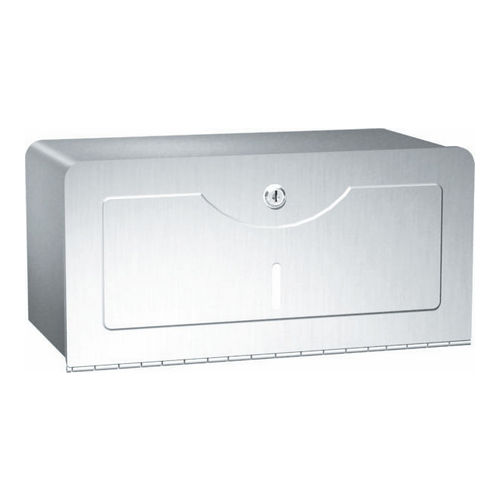 ASI 0245-SS Paper Towel Dispenser (Single-Fold), Surface Mounted, Stainless Steel