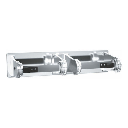 ASI 0715 Toilet Tissue Holder (Double), Chrome Plated, Surface Mounted