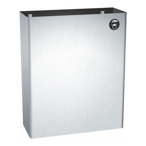ASI 0828 Waste Receptacle (7 gal.), Surface Mounted
