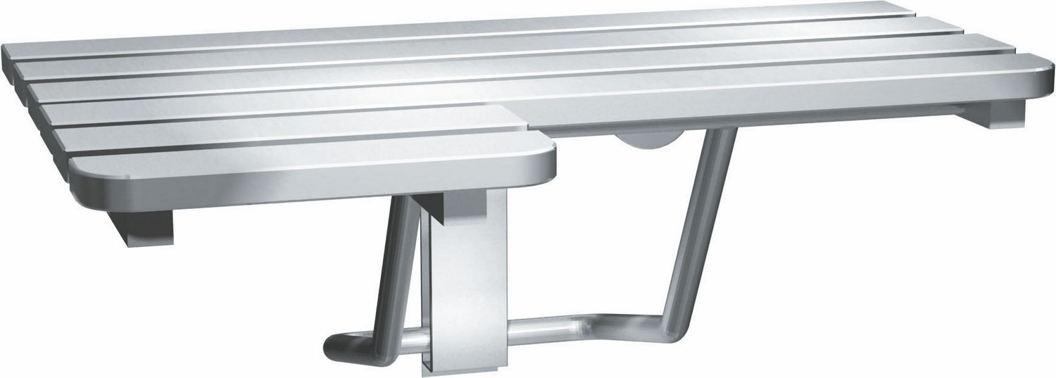 ASI 8208-R Folding Shower Seat, Right Hand, ADA, Stainless Steel ...
