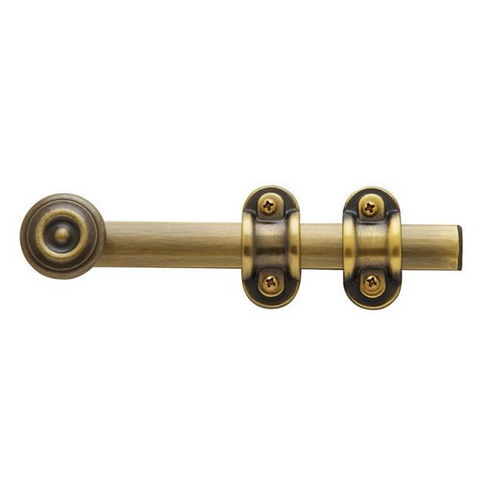 Baldwin 0379050 Ornamental Surface Bolt, 6