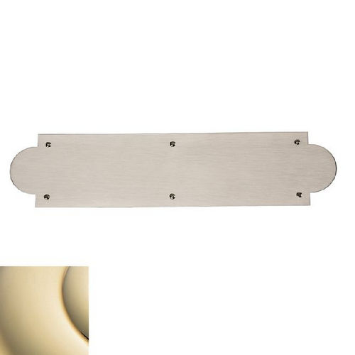 Baldwin 2265 Push Plate Arched 3-1/2
