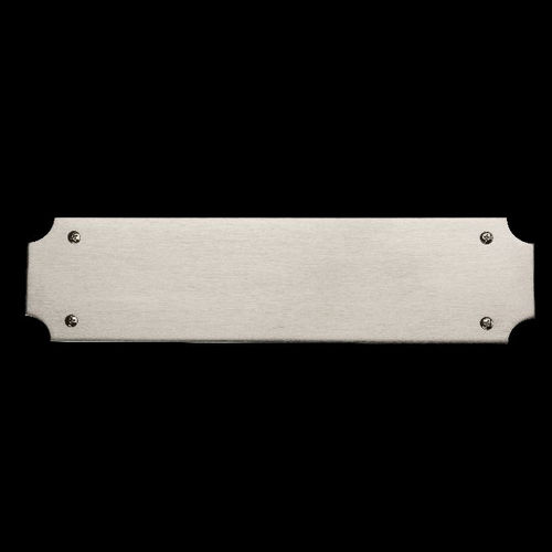 Baldwin 2276 Push Plate, Satin Nickel