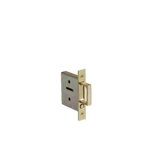 Baldwin 8601030 Pocket Door Pull for Passage and Dummy, Bright Brass