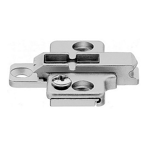 Blum 175H7100 Two-Piece Wing Plate, 0mm
