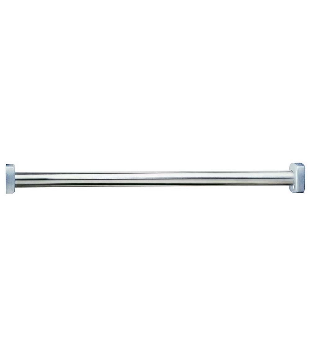Bobrick 6047 Shower Curtain Rod 1 1 4 Dia 60 Length Square End Flanges