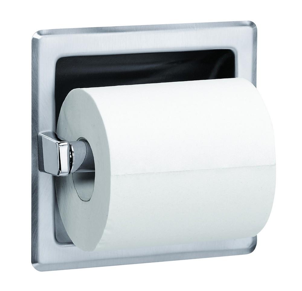 Bradley 5104 550000 Toilet Tissue Dispenser Recessed Single