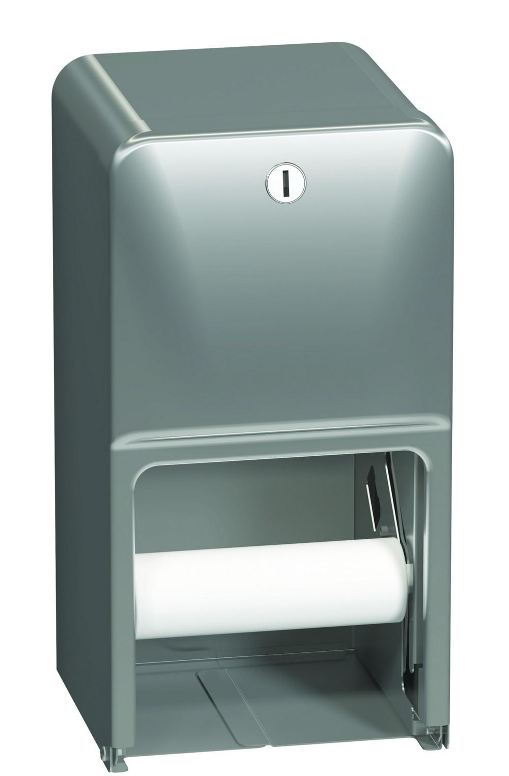 Bradley 5a10 110000 Toilet Tissue Dispenser Surface Dual