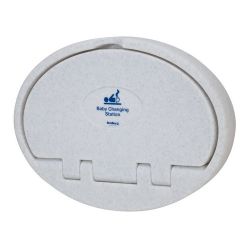 Bradley 9612-000000 Baby Changing Station, Plastic