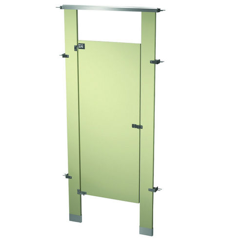 Bradley BW13660-ALM Locker Powder Coat, One Between Wall, Almond