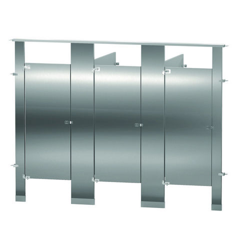 Bradley BW33660-SS Locker Stainless Steel, Three Between Wall