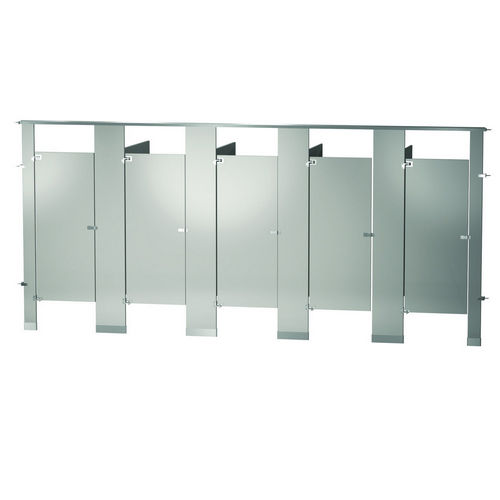 Bradley BW53660-WGR Locker Powder Coat, Five Between Wall, Warm Gray
