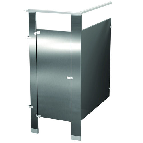 Bradley IC13660-SS Locker Stainless Steel, One Corner Wall