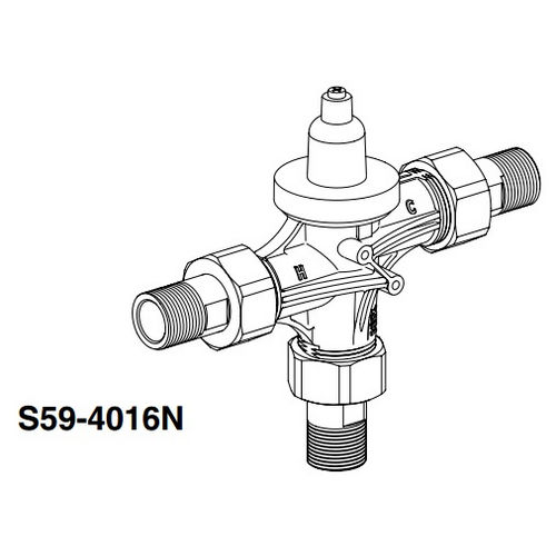 Bradley S59-4016N Thermostatic POU Valve 15 GPM