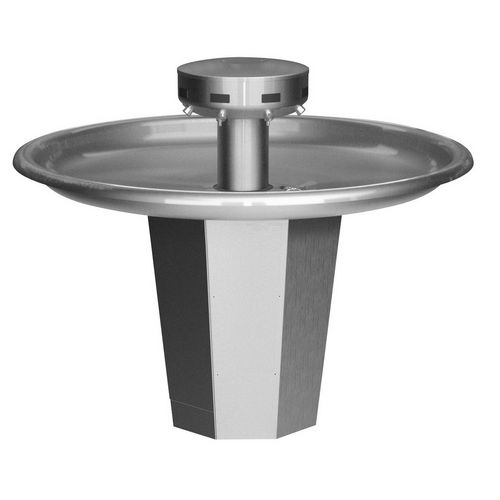 Bradley S93-641 Washfountain Sentry Stainless 54