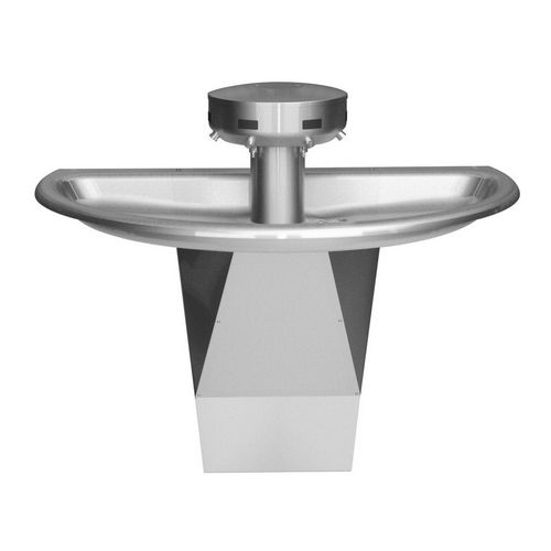 Bradley S93-633 Washfountain Sentry Stainless 54