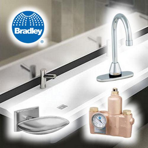 Bradley 7405 018300 Mirror Angle Frame Tilt Shelf