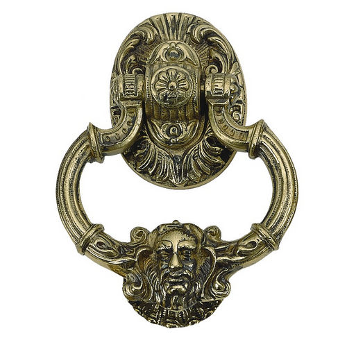 Brass Accents A04-K5060 Neptune Knocker 7-3/8