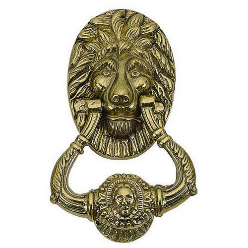 Brass Accents A07-K5000 Lion Knocker 7-1/2