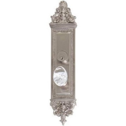 Brass Accents D04-K523D-GTN Renaissance Collection Door Plate Set, Aged Brass