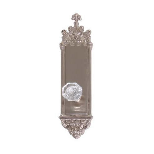 Brass Accents D04-K560D-HTF Renaissance Collection Door Plate Set, Satin Nickel
