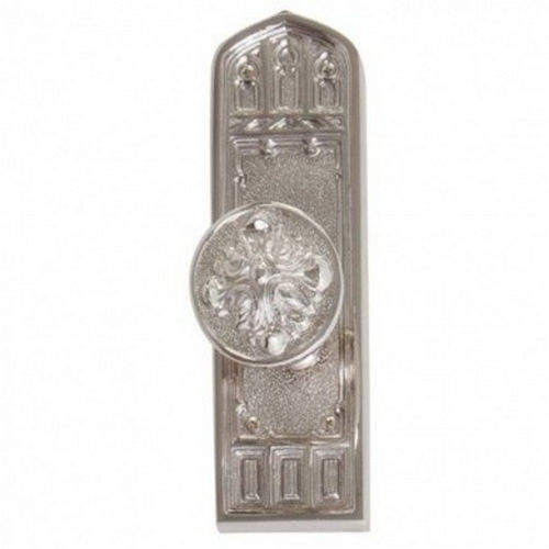 Brass Accents D04-K582D-HTF Renaissance Collection Door Plate Set, Satin Nickel
