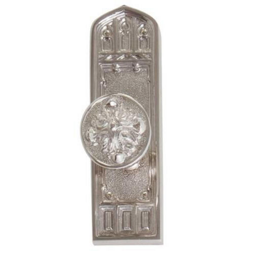 Brass Accents D04-K582D-MTL Renaissance Collection Door Plate Set, Aged Brass
