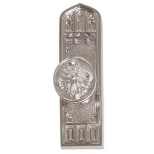 Brass Accents D04-K582D-MTL Renaissance Collection Door Plate Set, Venetian Bronze