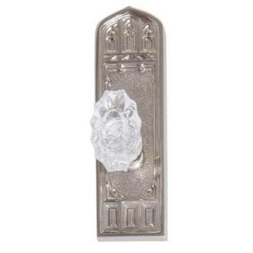 Brass Accents D04-K582D-SAV Renaissance Collection Door Plate Set, Aged Brass