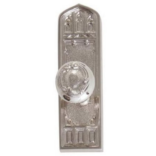 Brass Accents D04-K582G-HTF Renaissance Collection Door Plate Set, Aged Brass