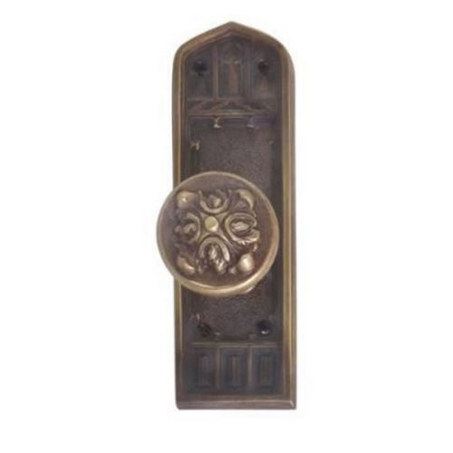 Brass Accents D04-K582G-MTL Renaissance Collection Door Plate Set, Venetian Bronze