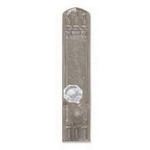 Brass Accents D04-K584G-HTF Renaissance Collection Door Plate Set, Highlighted Brass