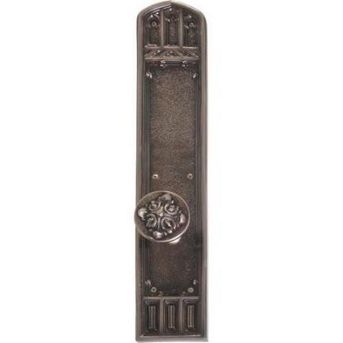 Brass Accents D04-K584G-LFT Renaissance Collection Door Plate Set, Venetian Bronze