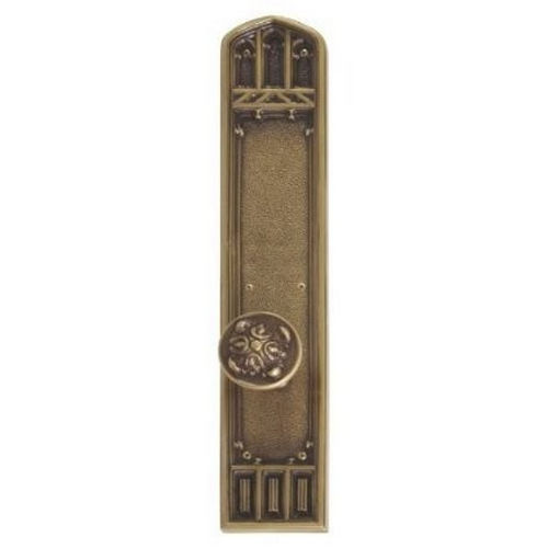 Brass Accents D04-K584G-MTL Renaissance Collection Door Plate Set, Aged Brass