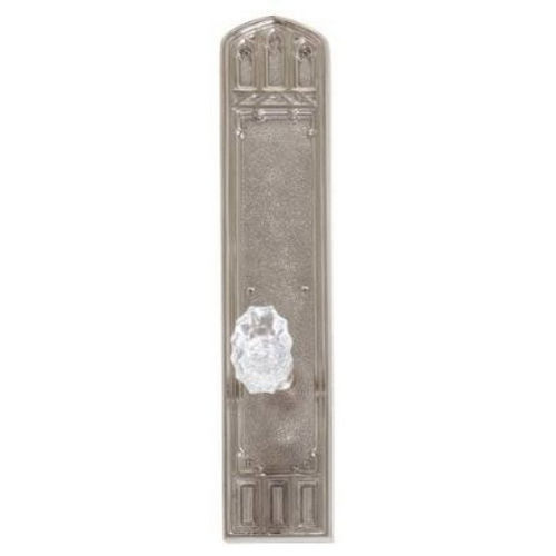 Brass Accents D04-K584G-SAV Renaissance Collection Door Plate Set, Aged Brass