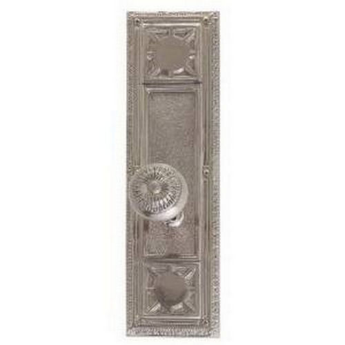 Brass Accents D04-K720G-SUN Renaissance Collection Door Plate Set, Highlighted Brass
