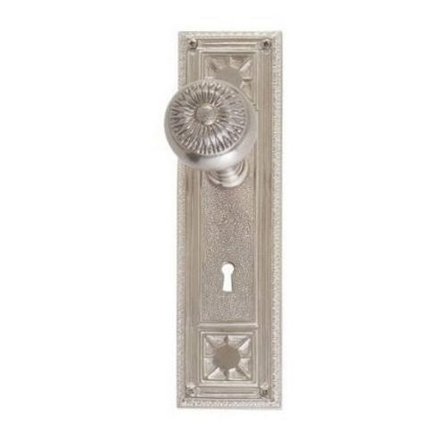 Brass Accents D04-K724D-SUN Renaissance Collection Door Plate Set, Aged Brass