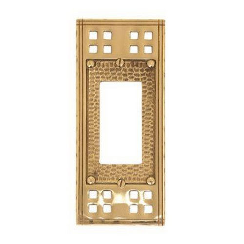 Brass Accents M05-S5620 Arts & Crafts Single GFCI 2-3/4
