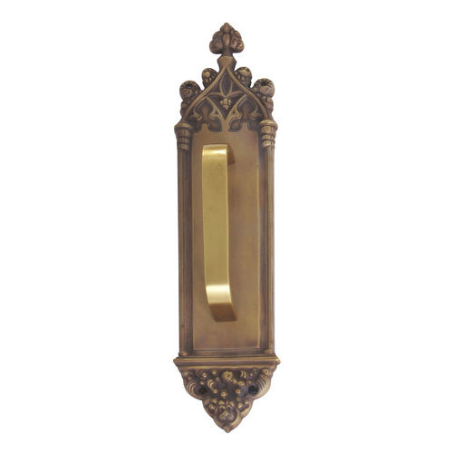 Brass Accents A04-P5601-TRD-486 Gothic 3-3/8